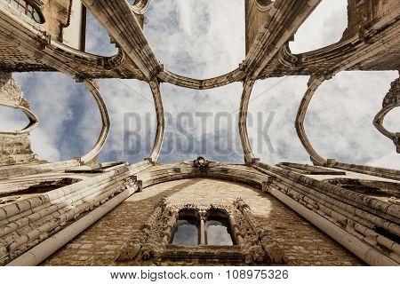 Ruins of the Carmo Church, Lissabon