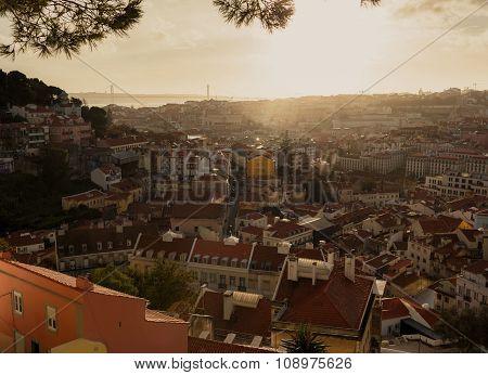 Beautiful Lissabon city