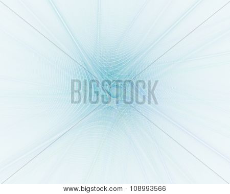 Abstract Fractal Background With Centered Rays Texture