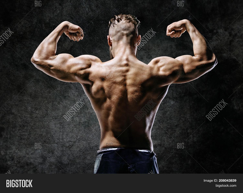 Muscular Back Man Image & Photo (Free Trial) | Bigstock