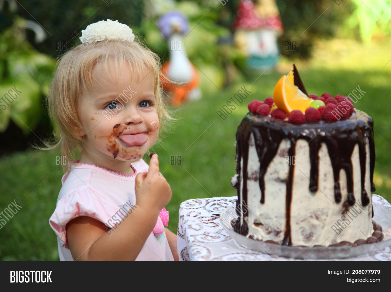 Awe Inspiring Girl Birthday Little Image Photo Free Trial Bigstock Funny Birthday Cards Online Elaedamsfinfo