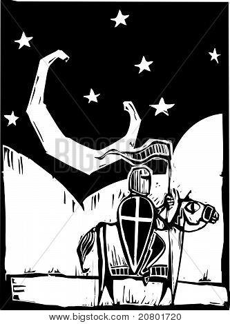 Knight Beneath Moon