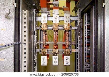Big 3 Phase Circuit Breaker.