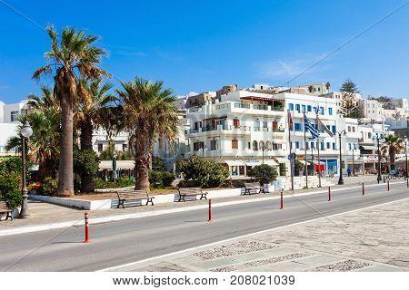 Naxos Chora Town, Greece
