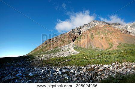Mountain Scenery Eastern Sayan