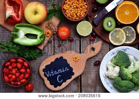 Composition Of Products Containing Ascorbic Acid, Vitamin C - Citrus, Cauliflower, Broccoli, Sweet P