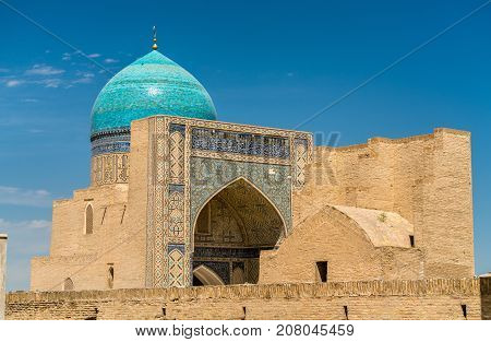 View of Kalyan Mosque in Bukhara, Uzbekistan. Central Asia