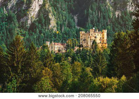 Hohenschwangau Castle In Germany