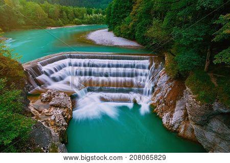 Lech Falls In Fussen