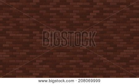 Brick wall. Interior texture. Architecture. Minimalism style texture. Vector illustration. Grunge facade. Building wall. Business background for poster or banner.