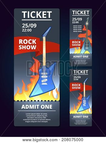 Ticket Design Vector Photo Free Trial Bigstock