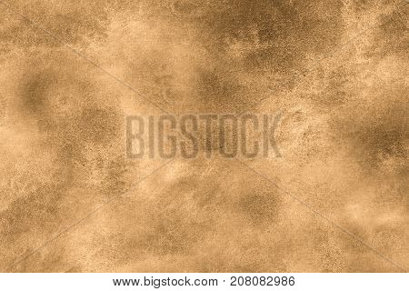 Aged old style vintage background. Old photo texture illustration stylization in sepia colors with blots stains and scratches