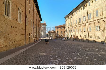 Urbino - Architecture Of Old City