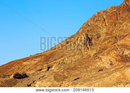 A beautiful mountains in the Desert of Negev, Israel