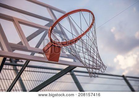 Basketball Hoop Outside