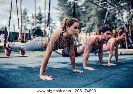 Group Trx Training
