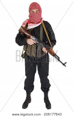 Rebel With Assault Rifle