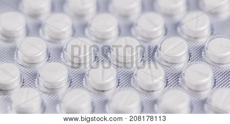 High detailed drugs close-up shot for use as background image or as texture