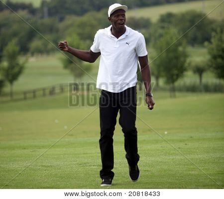 Usain Bolt in Czech republic
