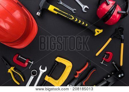 Reparement Tools And Hard Hat