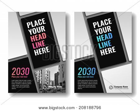 Cover template for books, magazine, brochures, corporate presentations, annual reports, posters, portfolios, banner website etc. Vector illustration