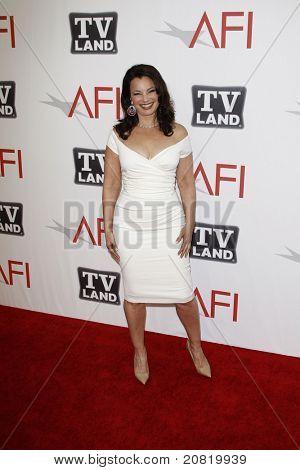 CULVER CITY - JUN 9: Fran Drescher at the 39th AFI Life Achievement Award Honoring Morgan Freeman held at Sony Pictures Studios  in Culver City, California on June 9, 2011.
