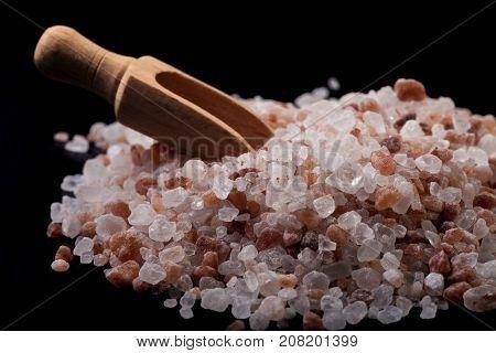 Himlayan Salt Close-up
