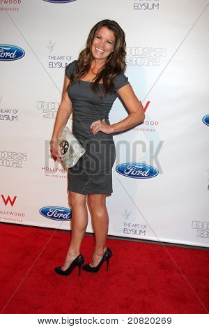 LOS ANGELES - JUN 9:  Melissa Claire Egan arriving at the Art of Elysium Return of Ford Mustang Boss Event at The Residences at W Hollywood on June 9, 2011 in Los Angeles, CA