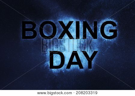 Boxing Day. Boxing Day Sale Concept. Sale.
