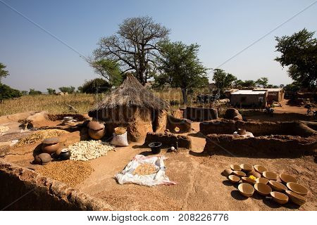 Tools utilized by gold digger Burkina faso