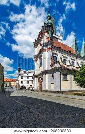 Church of All Saints in Northern Bohemia Litomerice