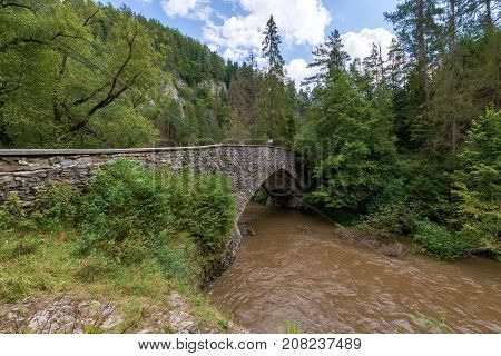 The Slovak Paradise National Park is the territory of Eastern Slovakia. This area is famous for its gorges and canyons, which are secured by ladders, steps and other aids. Almost the whole area of the Slovak Paradise covers the forests.