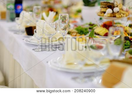 Buffet Table, Meal