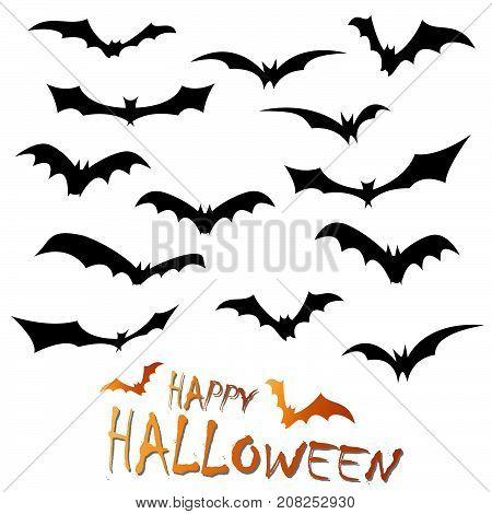 Collection Happy Halloween Bats