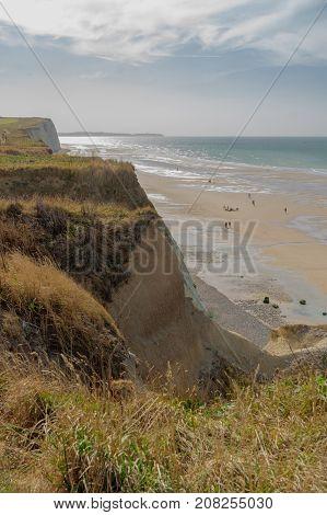 Cliffs And Coastline In Hauts-de-france