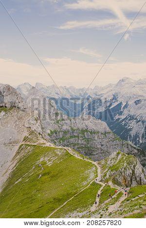 Mountains Alpes, beautiful Nature Germany, Bavaria 2017