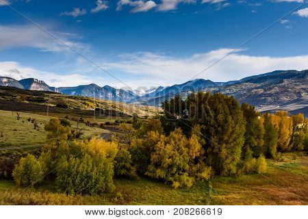 Autumn in the Cimarron Range - Colorado Rocky Mountain Scenic Beauty