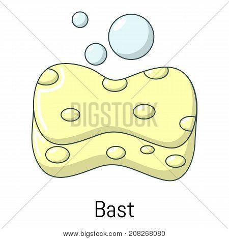 Bast icon. Cartoon illustration of bast vector icon for web