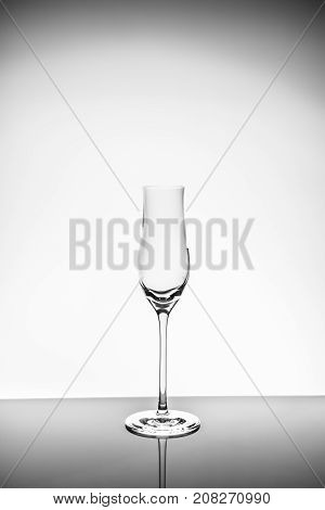 Liqueur Glass  On The Light Background