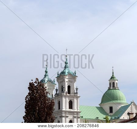 Catholic Cathedral of St. Francis Xavier in Grodno. Belarus, 15 June 2017