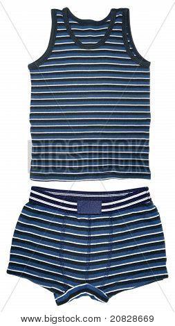 Shirt Sleeveless And Short Underwear