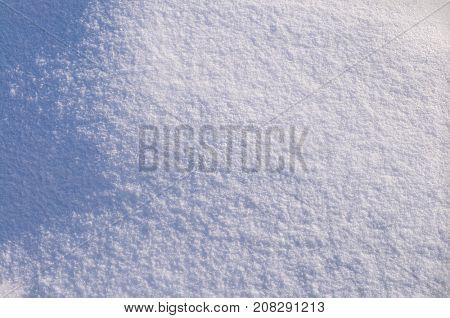 Morning winter morning snow background