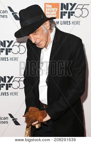 NEW YORK-OCT 07: Cinematographer Ed Lachman attends the