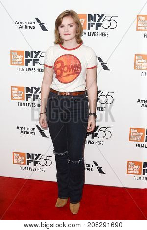 NEW YORK-OCT 07: Morgan Turner attends the