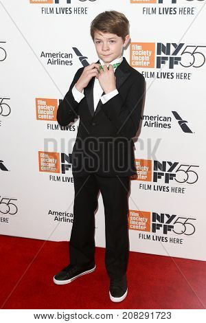 NEW YORK-OCT 07: Actor Oakes Fegley attends the