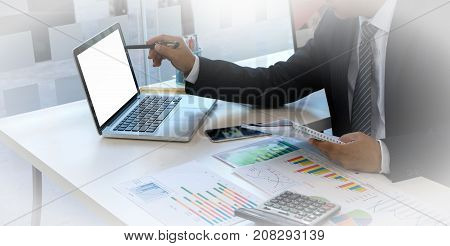 Office Work For Business Teamwork Staff