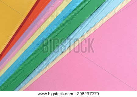 Abstract colorful background. Material for annual reports, brochures, newsletters, posters, invitations, flyers.