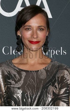 LOS ANGELES - OCT 7:  Rashida Jones at the 2017 Los Angeles Dance Project Gala at the LA Dance Project on October 7, 2017 in Los Angeles, CA