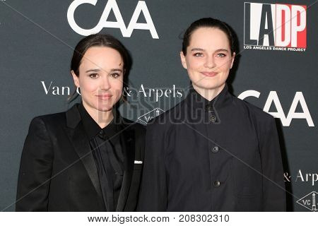 LOS ANGELES - OCT 7:  Ellen Page, Emma Portner at the 2017 Los Angeles Dance Project Gala at the LA Dance Project on October 7, 2017 in Los Angeles, CA