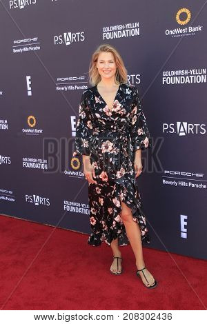 LOS ANGELES - OCT 8:  Ali Larter at the P.S. ARTS' Express Yourself 2017 at the Barker Hanger on October 8, 2017 in Santa Monica, CA